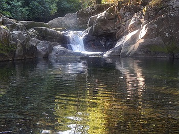 Swimming hole near Ladies Wells